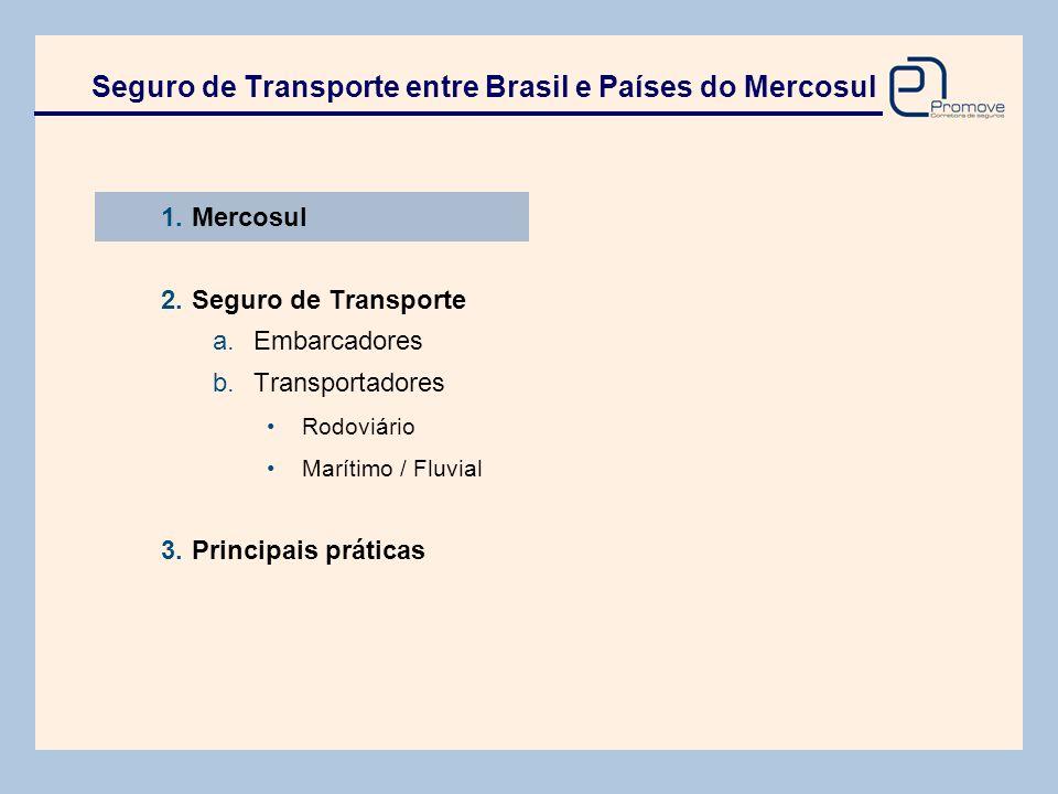 O Mercosul foi criado em 1991, com o objetivo de integrar comercialmente quatro países, formando um grande bloco econômico.