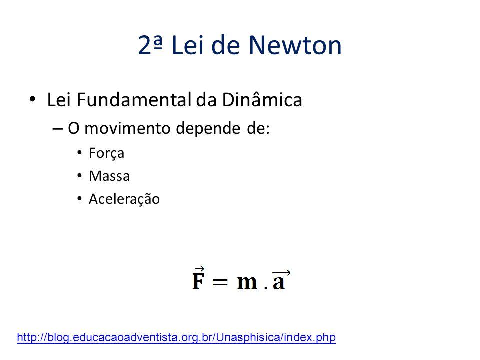 1ª Lei de Newton • Se um corpo estiver em movimento...