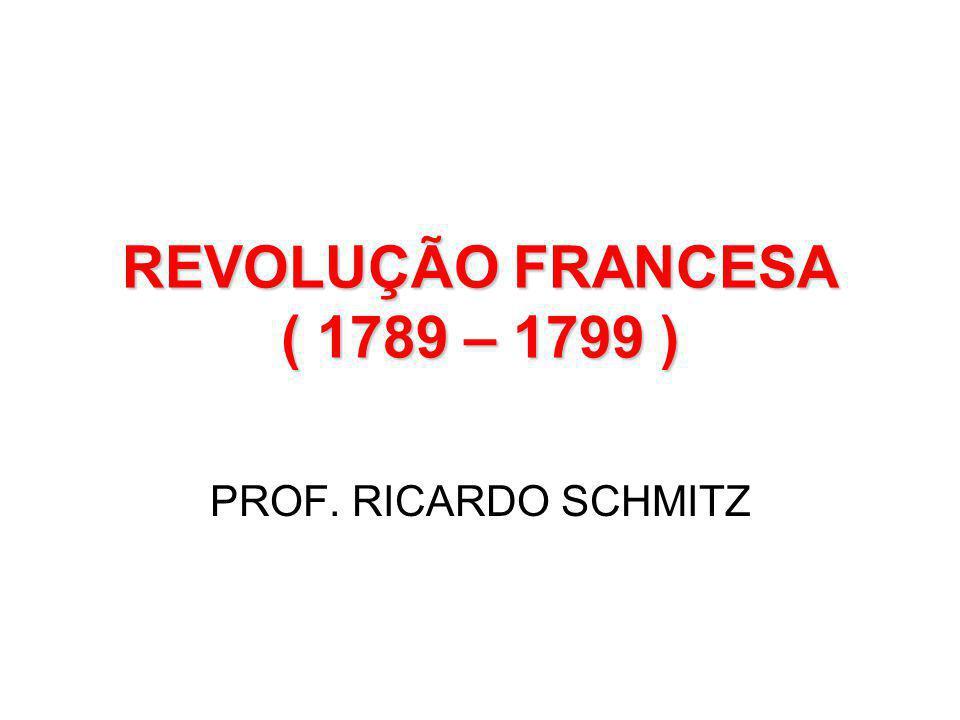 REVOLUÇÃO FRANCESA SEU SIGNIFICADO: •Destruição do Absolutismo e do Feudalismo na França •Construção de uma Nova Ordem Política, Econômica e Social, baseada no Capitalismo e no Poder da Burguesia.