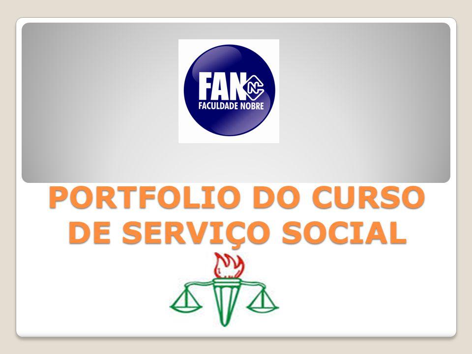 PORTFOLIO DO CURSO DE SERVIÇO SOCIAL