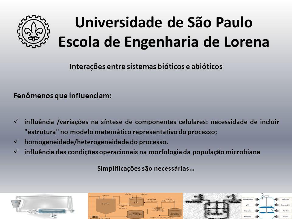 Universidade de São Paulo Escola de Engenharia de Lorena Interações entre sistemas bióticos e abióticos Fenômenos que influenciam:  influência /varia