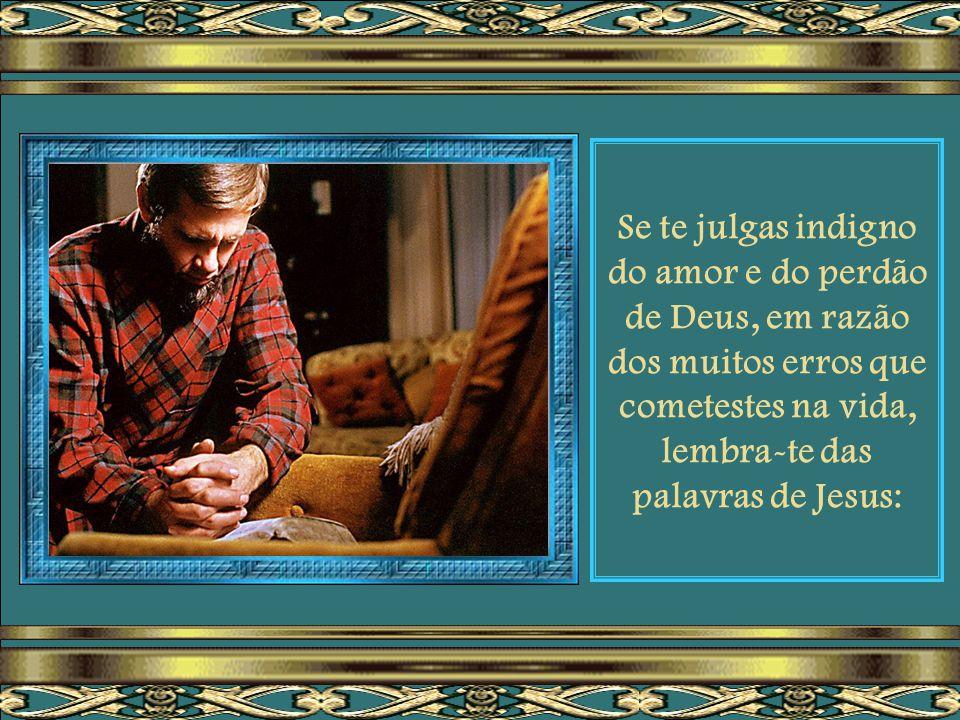 """Entrega teus problemas a Jesus, que te diz: """"Vinde a mim, vós que estais cansados e sobrecarregados, e eu vos aliviarei""""."""