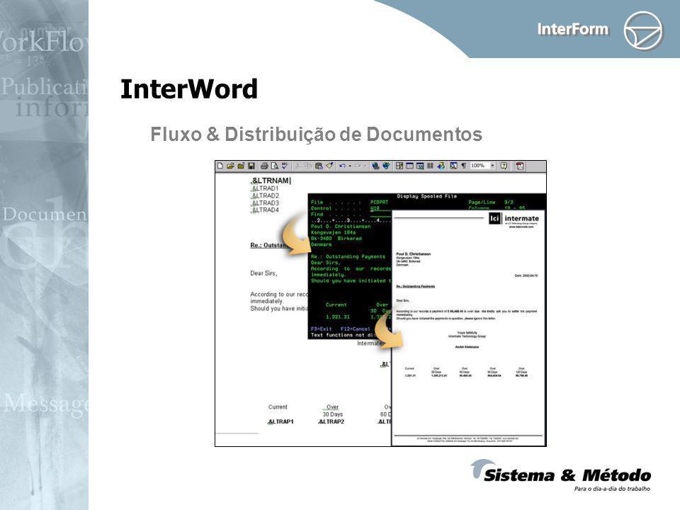 Fluxo & Distribuição de Documentos InterWord