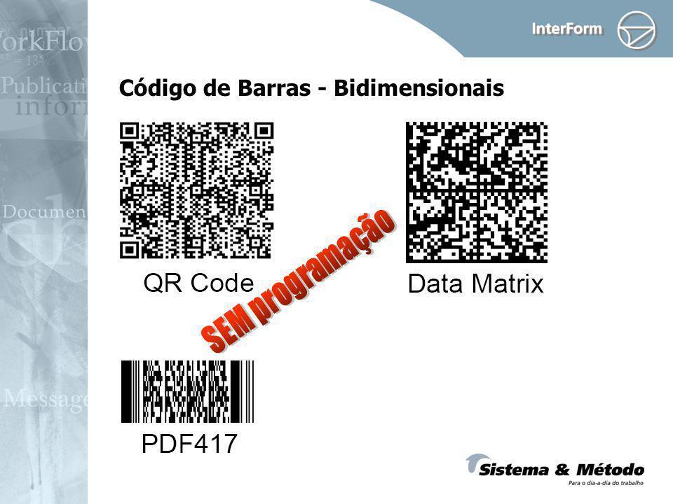 Código de Barras - Bidimensionais