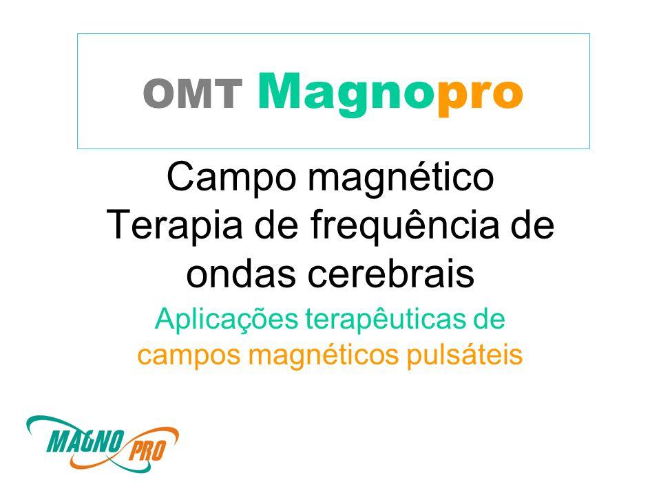 Campo magnético Terapia de frequência de ondas cerebrais Aplicações terapêuticas de campos magnéticos pulsáteis OMT Magnopro