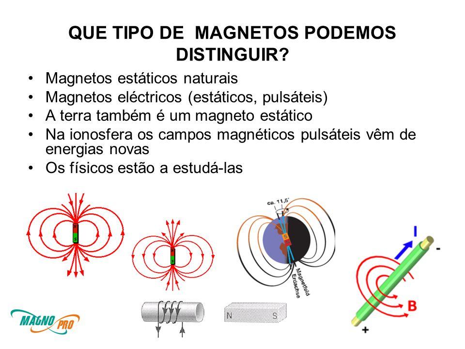 QUE TIPO DE MAGNETOS PODEMOS DISTINGUIR.