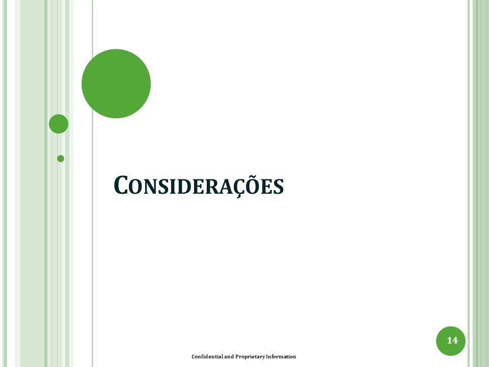 Confidential and Proprietary Information D IFICULDADES 15 O GLOBO (23/03/13) Pouca chuva, conta alta: governo vai desembolsar R$ 11 bi com térmicas.