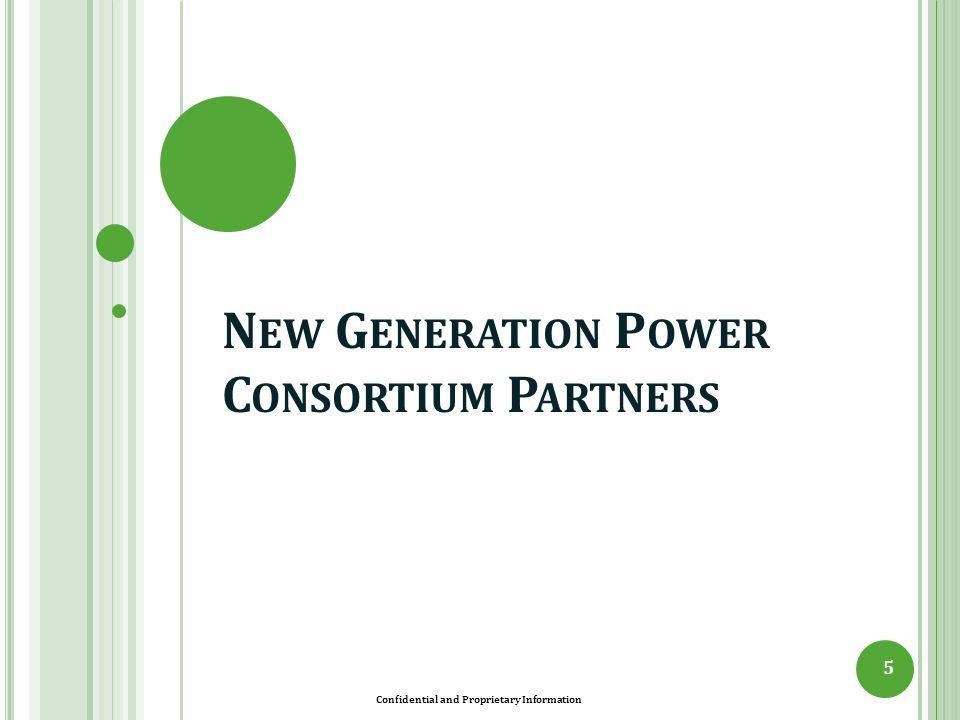N EW G ENERATION P OWER C ONSORTIUM P ARTNERS 5