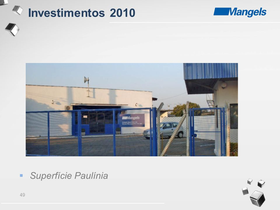 49  Superfície Paulínia Investimentos 2010