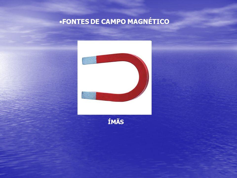 •FONTES DE CAMPO MAGNÉTICO ÍMÃS