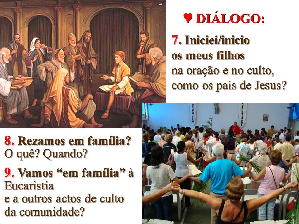 """… e de celebrar, mesmo em casa e de forma adequada aos seus membros, os tempos e as festividades litúrgicas"""" ( FC 61) … e de celebrar, mesmo em casa e"""