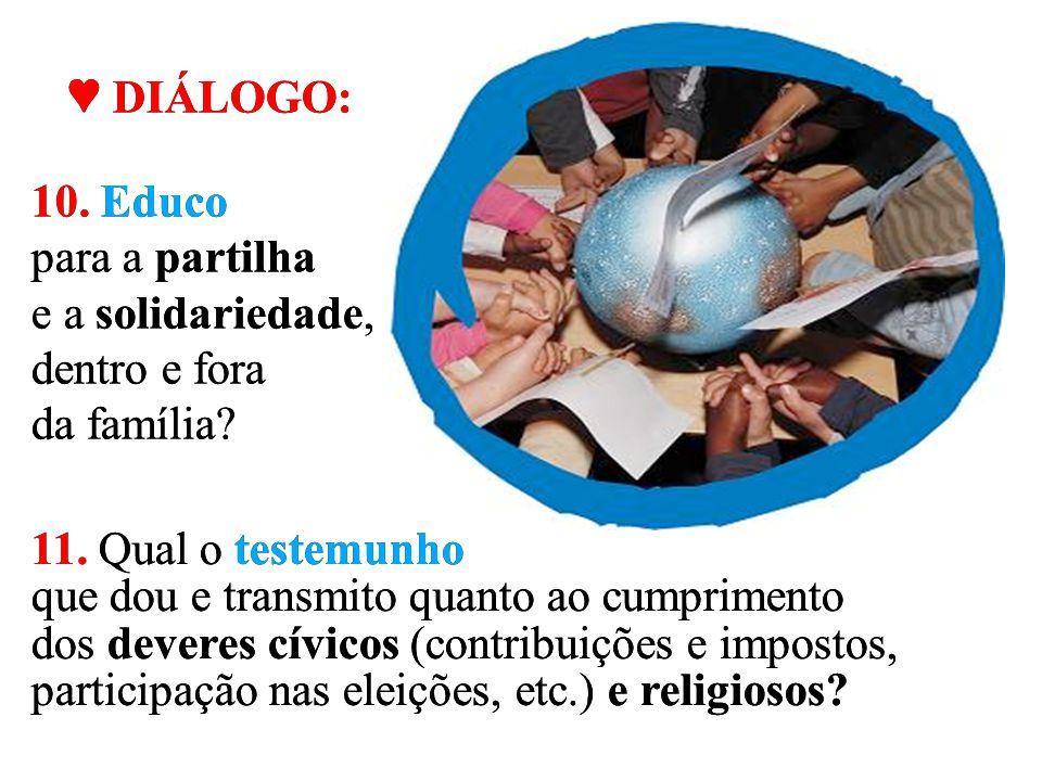 """c) Comunidade de Caridade """"A família cristã é animada e guiada pela nova lei do Espírito e em íntima comunhão com a Igreja, povo profético, sacerdotal"""