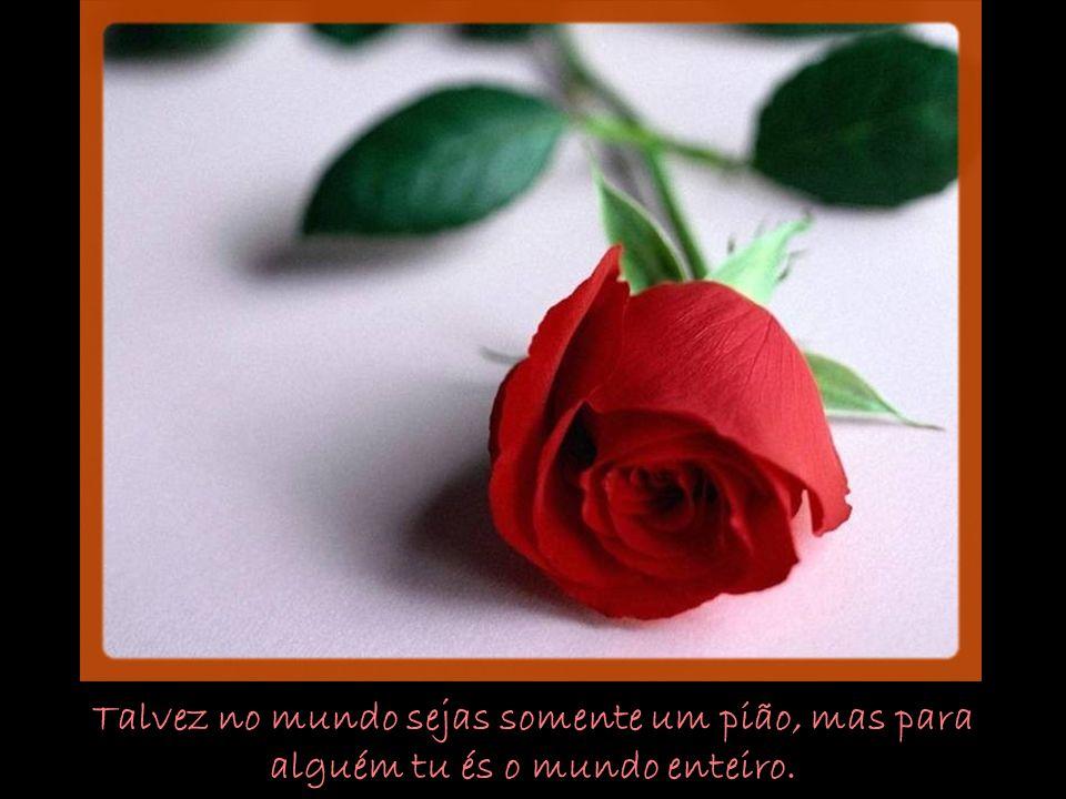 Pessoas que se amam dizem mil coisas sem necesidade de falar.