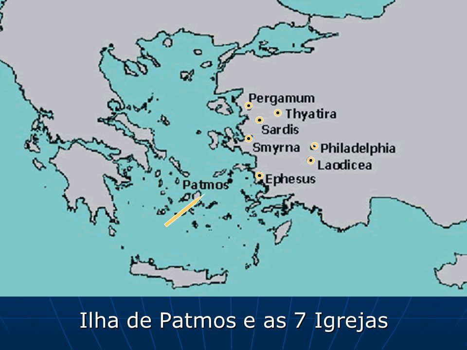 Ilha de Patmos e as 7 Igrejas