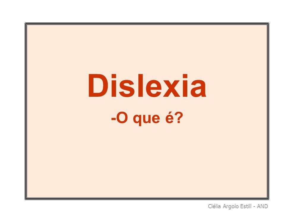 Dislexia -O que é?