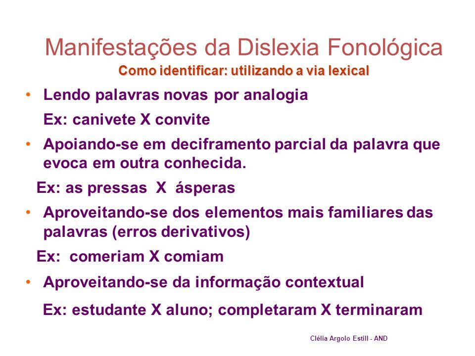 27 Como identificar: utilizando a via lexical •Lendo palavras novas por analogia Ex: canivete X convite •Apoiando-se em deciframento parcial da palavr