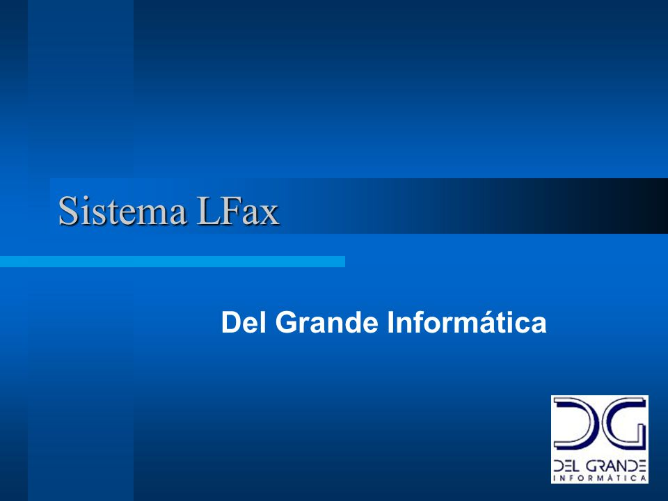 Descrição O LFax Server é a solução ideal para servidores de fax corporativos, com transmissão e recepção automática de fax em ambientes Unix, Linux e Windows NT/2000/XP.