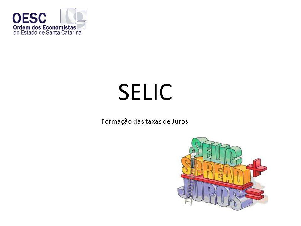 SELIC Formação das taxas de Juros
