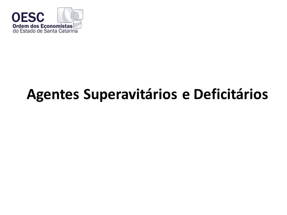 Agentes Superavitários e Deficitários