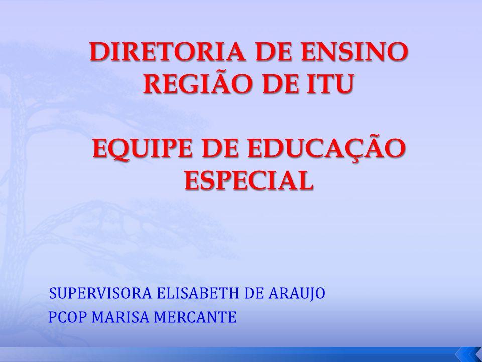 EDUCAÇÃO ESPECIAL INCLUSÃO É SAIR DAS ESCOLAS DOS DIFERENTES E PROMOVER A ESCOLA DAS DIFERENÇAS (MANTOAN)