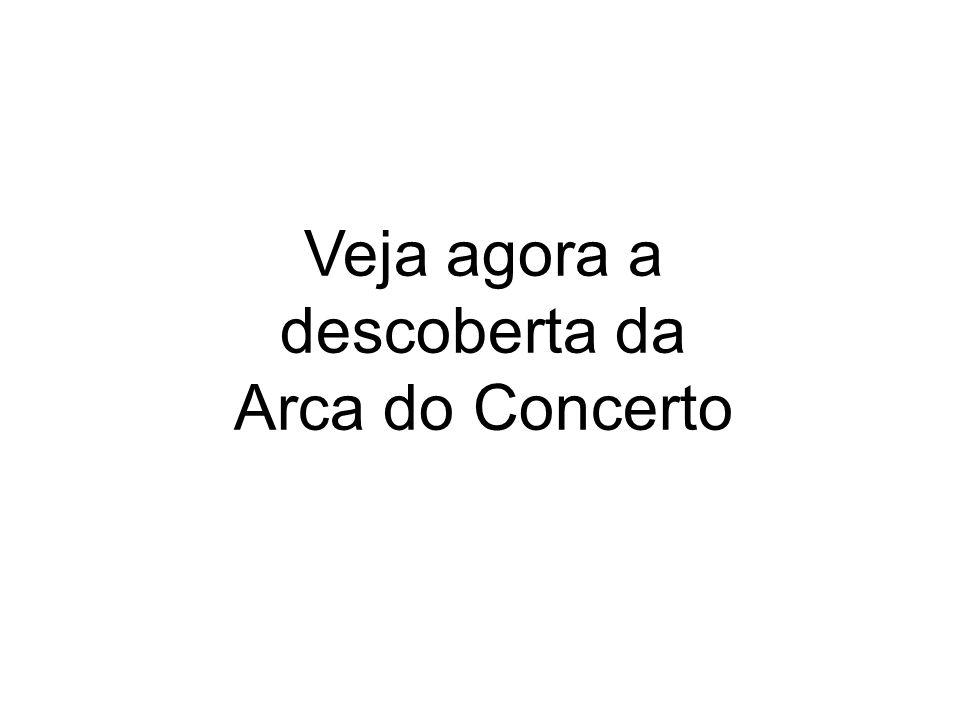Veja agora a descoberta da Arca do Concerto