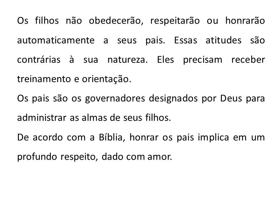 3 - Respeito ao idoso.A mensagem bíblica é clara: Honrar a idade é honrar a Deus.