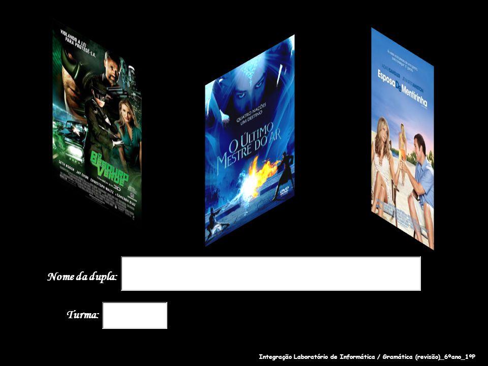 Observe a capa do filme O Besouro Verde para responder às questões 1, 2 e 3.