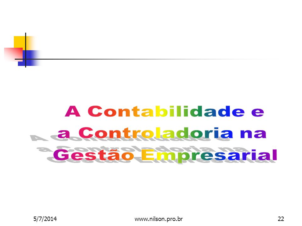 5/7/201422www.nilson.pro.br