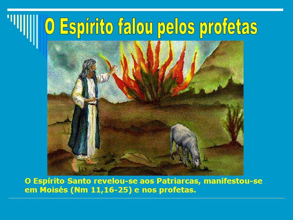 O povo de Israel quebrou muitas vezes a Aliança com Deus; os profetas eram homens simples, enviados por Deus que, cheios do Espírito do Senhor e, inspirados por Ele, anunciavam a Palavra de Deus com força e poder.