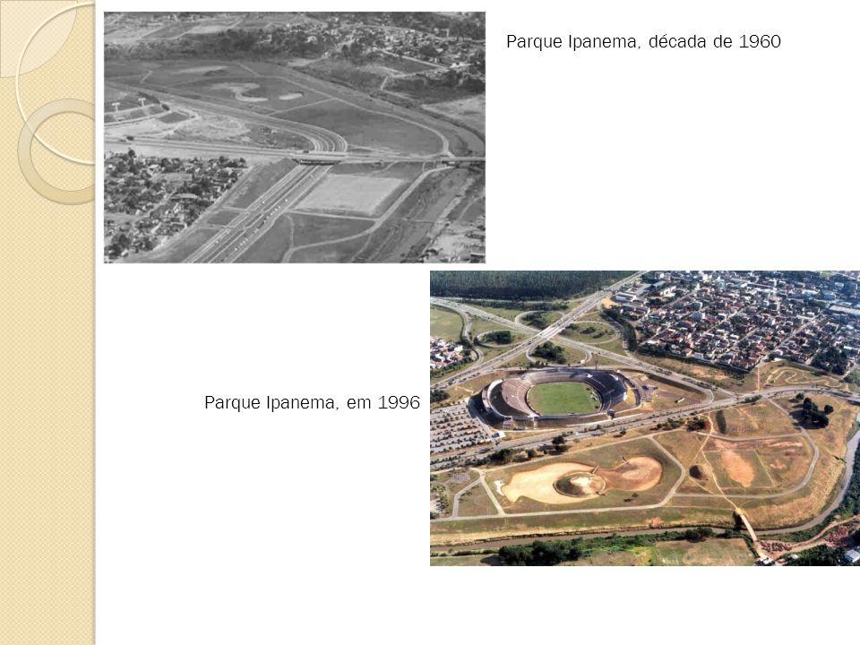 Parque Ipanema, década de 1960 Parque Ipanema, em 1996