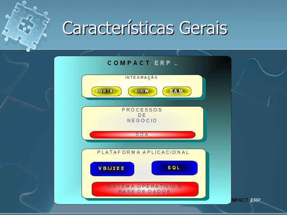 Características Gerais COMPACT  ERP