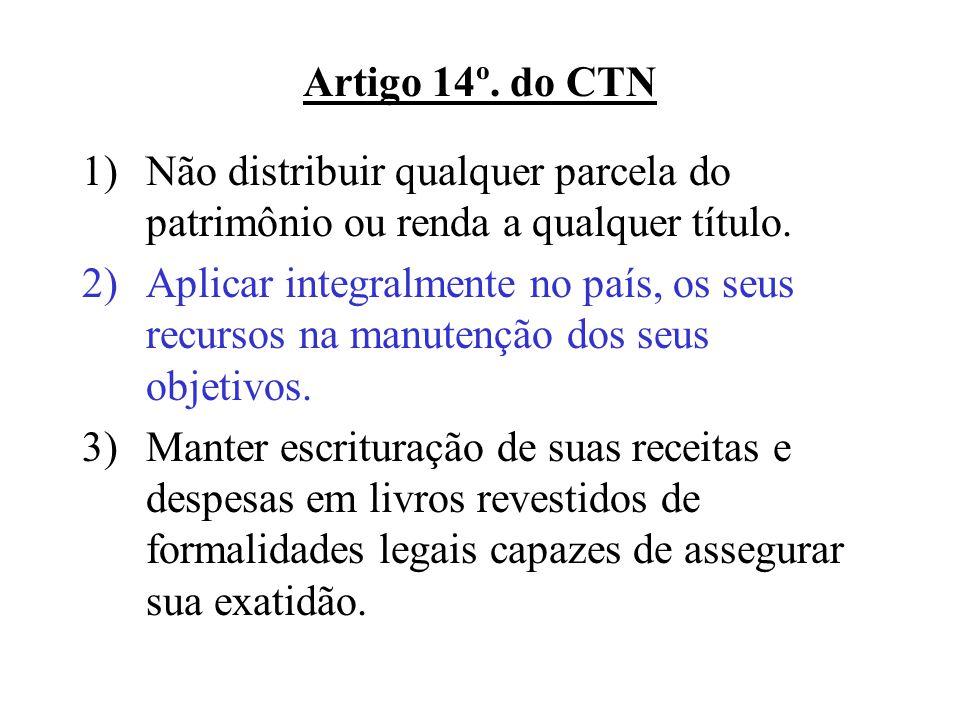 Regra Contábil – ITG 2002 3.O valor do superávit ou déficit deve ser incorporado ao Patrimônio Social.