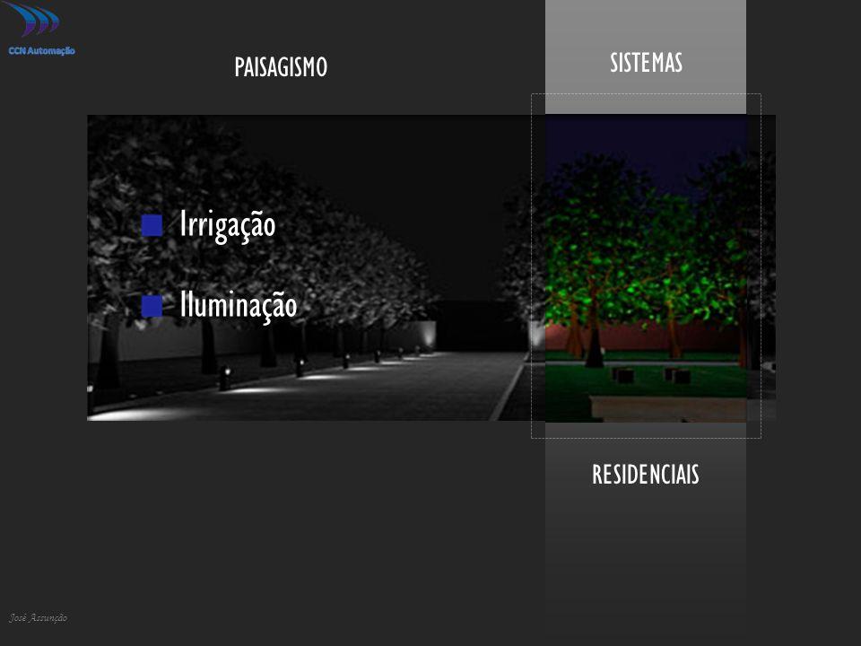 RESIDENCIAIS SISTEMAS José Assunção Irrigação Iluminação PAISAGISMO