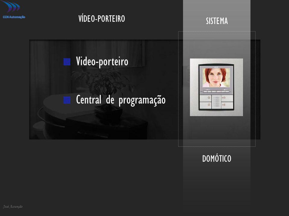 DOMÓTICO José Assunção SISTEMA VÍDEO-PORTEIRO Video-porteiro Central de programação