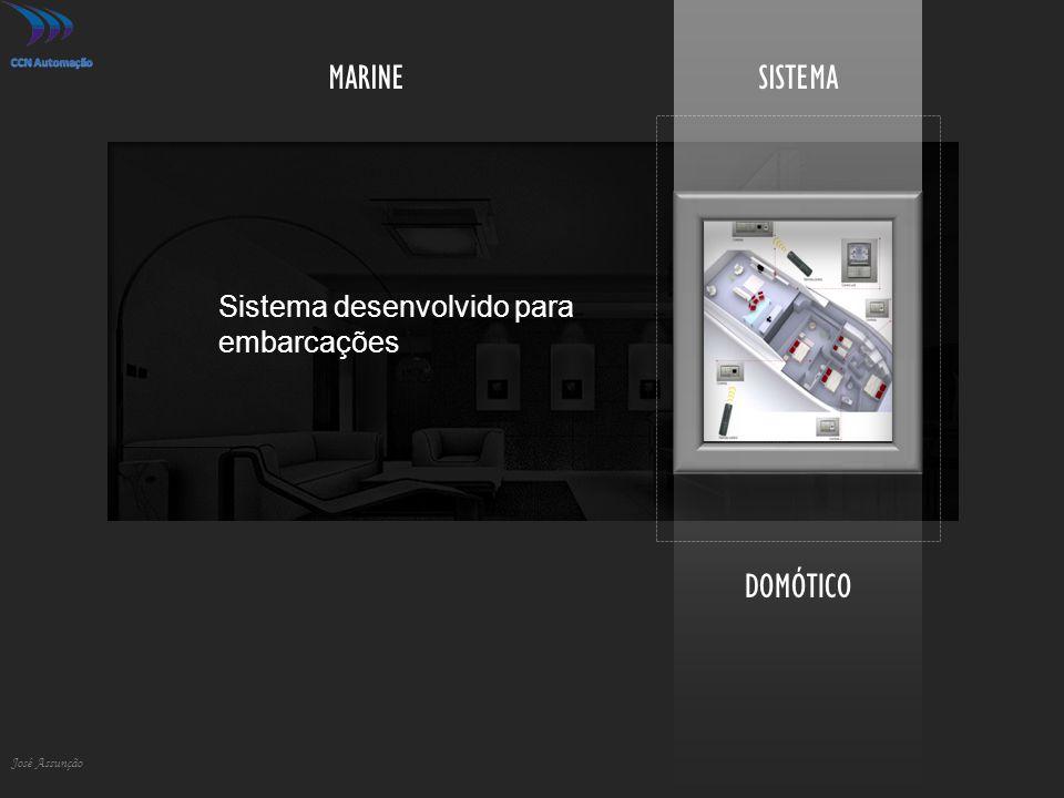 DOMÓTICO José Assunção SISTEMAMARINE Sistema desenvolvido para embarcações