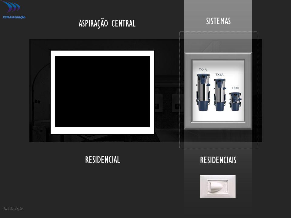 RESIDENCIAIS José Assunção SISTEMAS ASPIRAÇÃO CENTRAL RESIDENCIAL