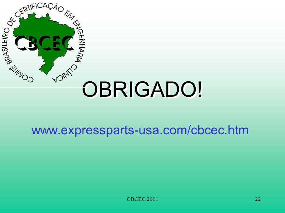 CBCEC 200122 OBRIGADO! www.expressparts-usa.com/cbcec.htm