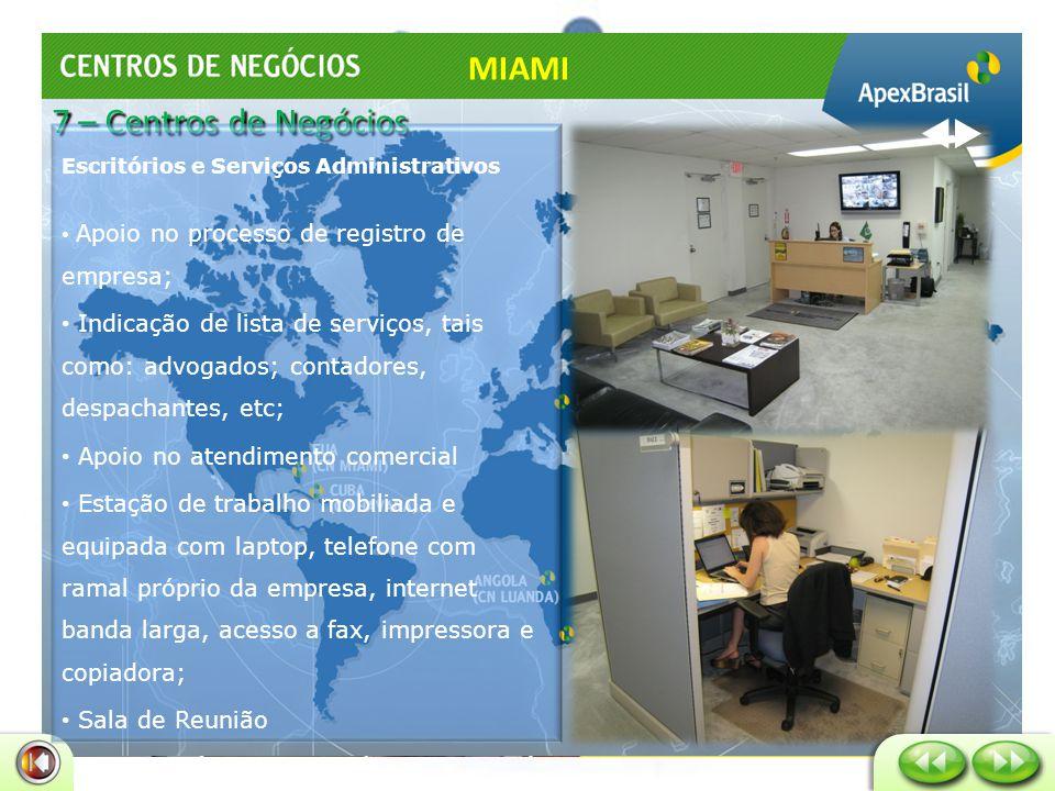 Miami Free Zone – Doral /FL MIAMI 7 – Centros de Negócios
