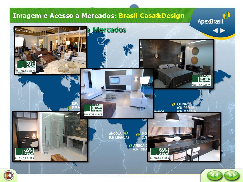 Imagem e Acesso a Mercados: Brasil Casa&Design 8 – Imagem e Acesso a Mercados