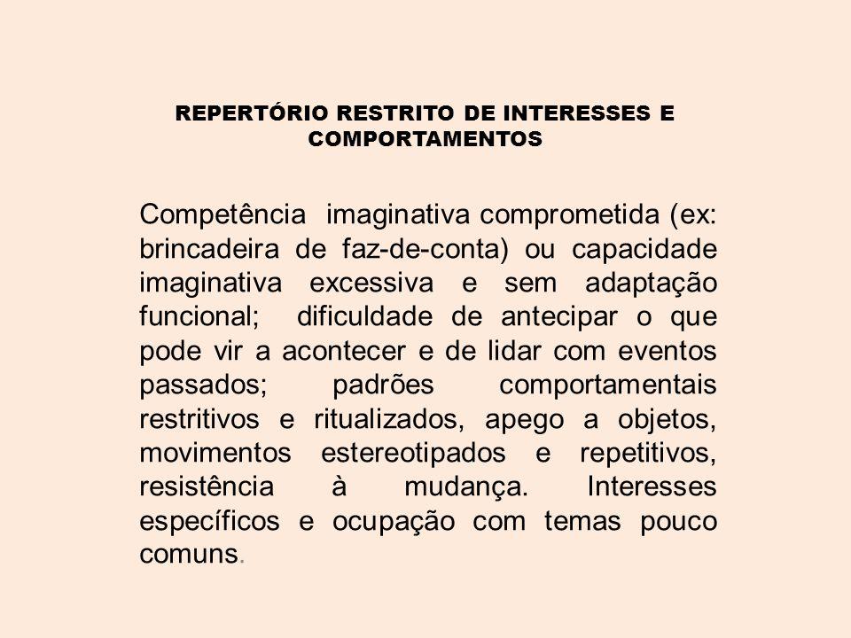 •A manifestação das caraterísticas varia de indivíduo para indivíduo e, ao longo da vida, pode variar com a idade e a aquisição ou a perda de competências.