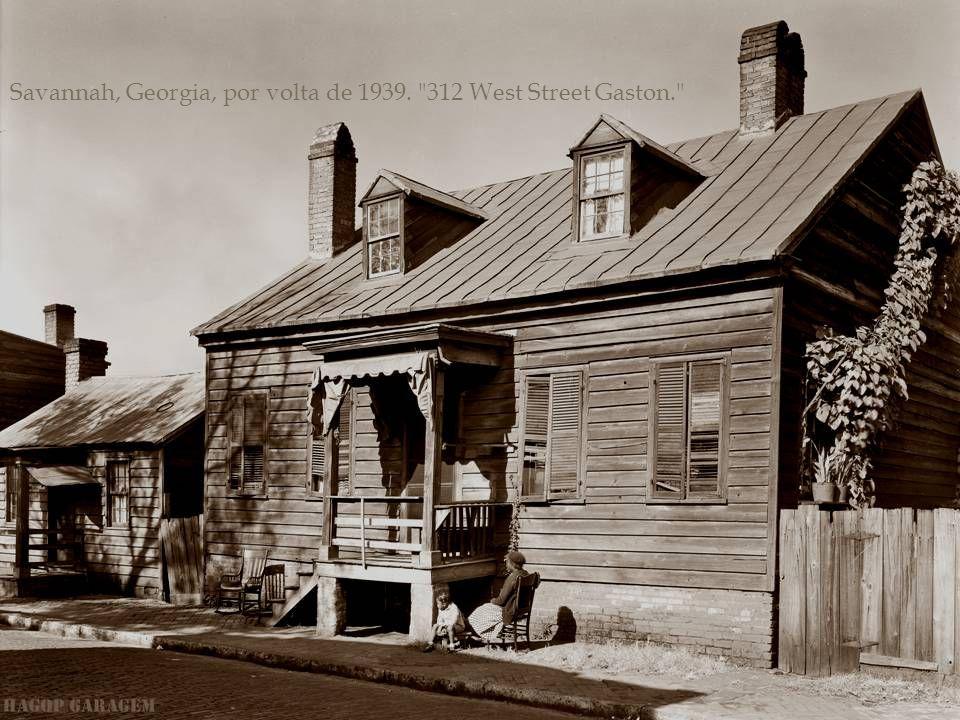 Savannah, Georgia, por volta de 1939.