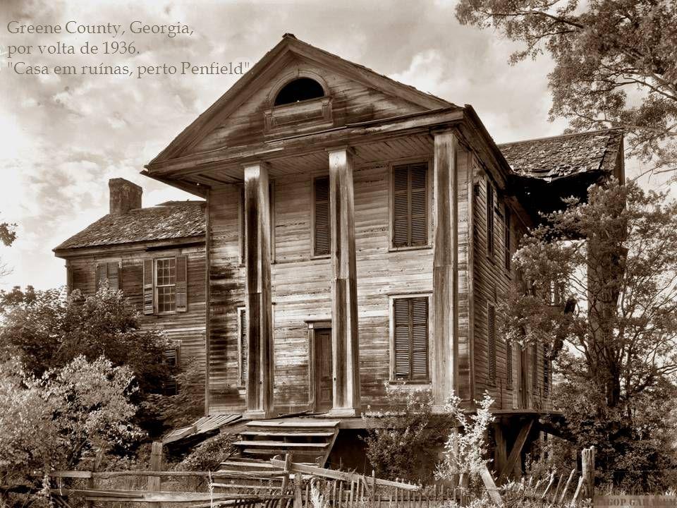 Ano - 1944 Baldwin County, na Geórgia.
