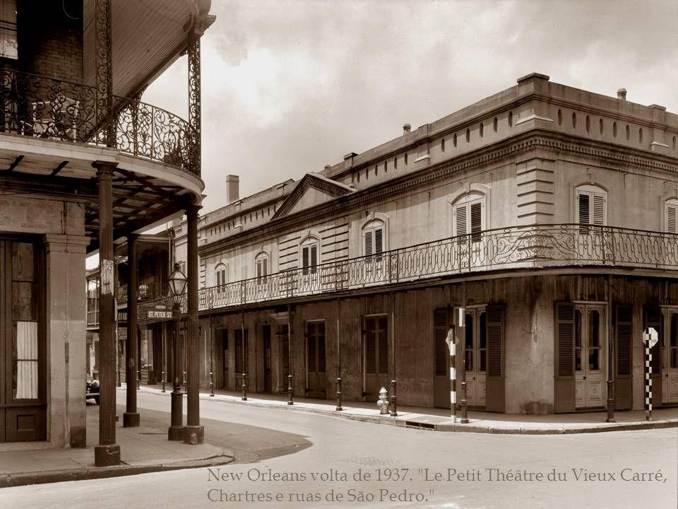 New Orleans, Louisiana, cerca de 1937.