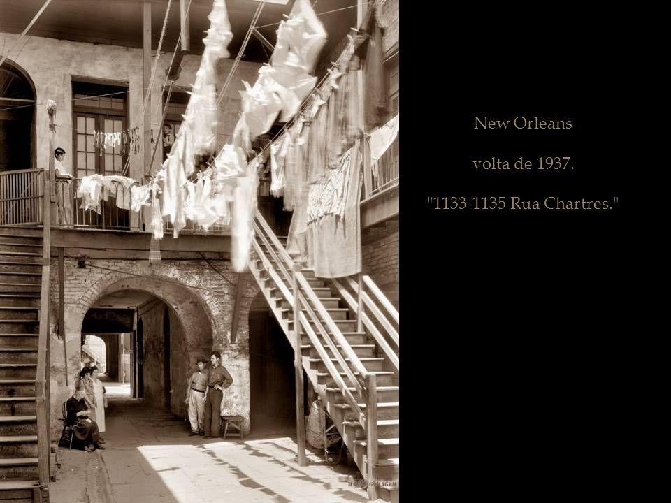 New Orleans, por volta de 1937.