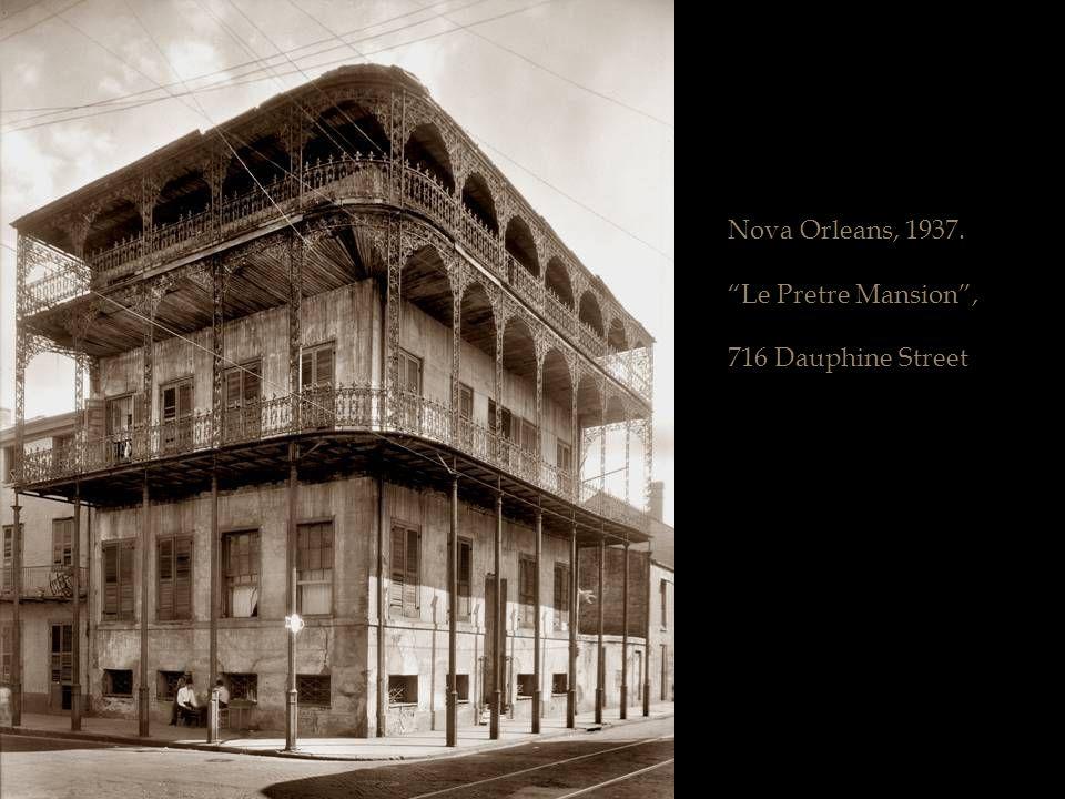 Nova Orleans, 1937.