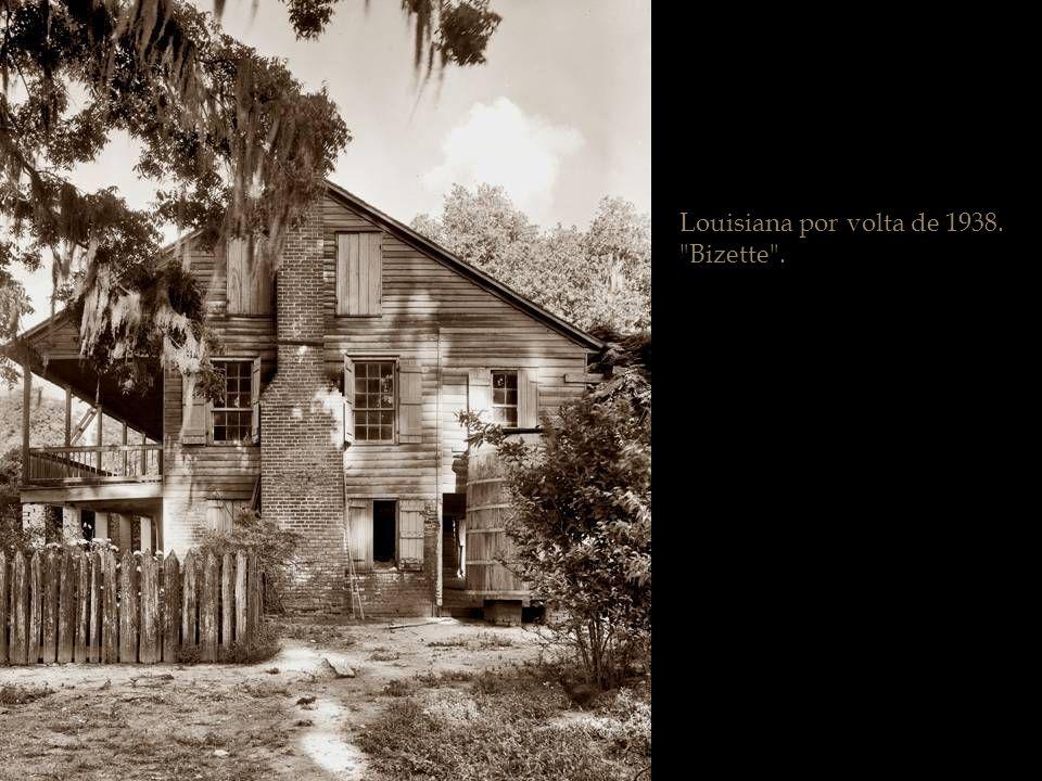 Ano 1938. Iberville Parish, Louisiana.