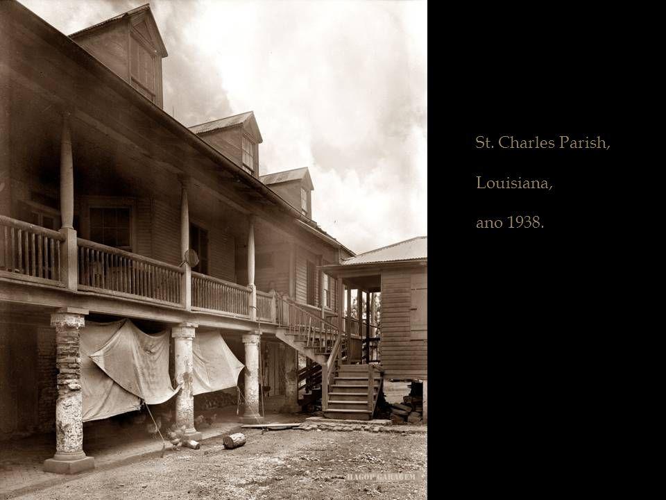 Louisiana por volta de 1938.
