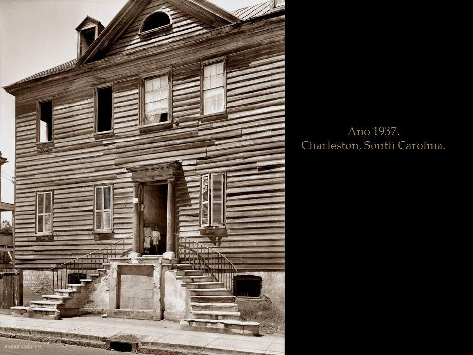 Ano 1936. Halifax County, Carolina do Norte.