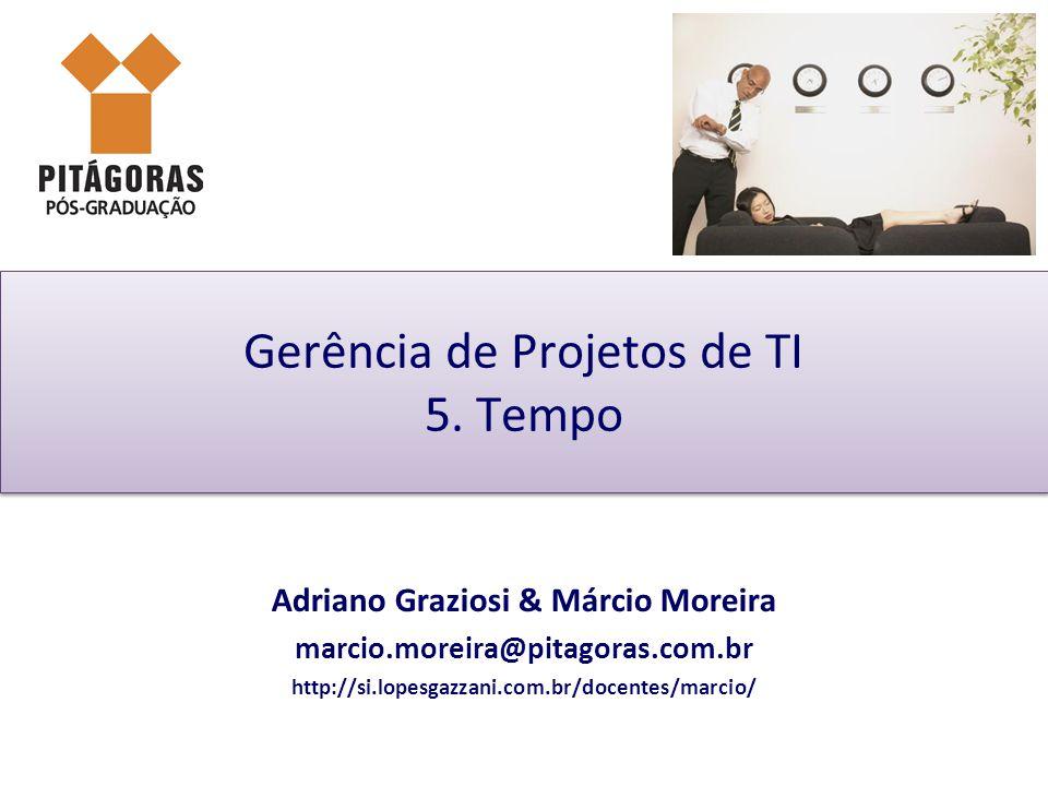 Adriano Graziosi & Márcio MoreiraUnidade 05 - slide 31 de 45Gestão de Projetos de TI - GPTI Paralelismo (fast track) de recursos Tempo Recursos Validação Lançamento Paralelismo Atividade 1Atividade 2Atividade 3Atividade 4