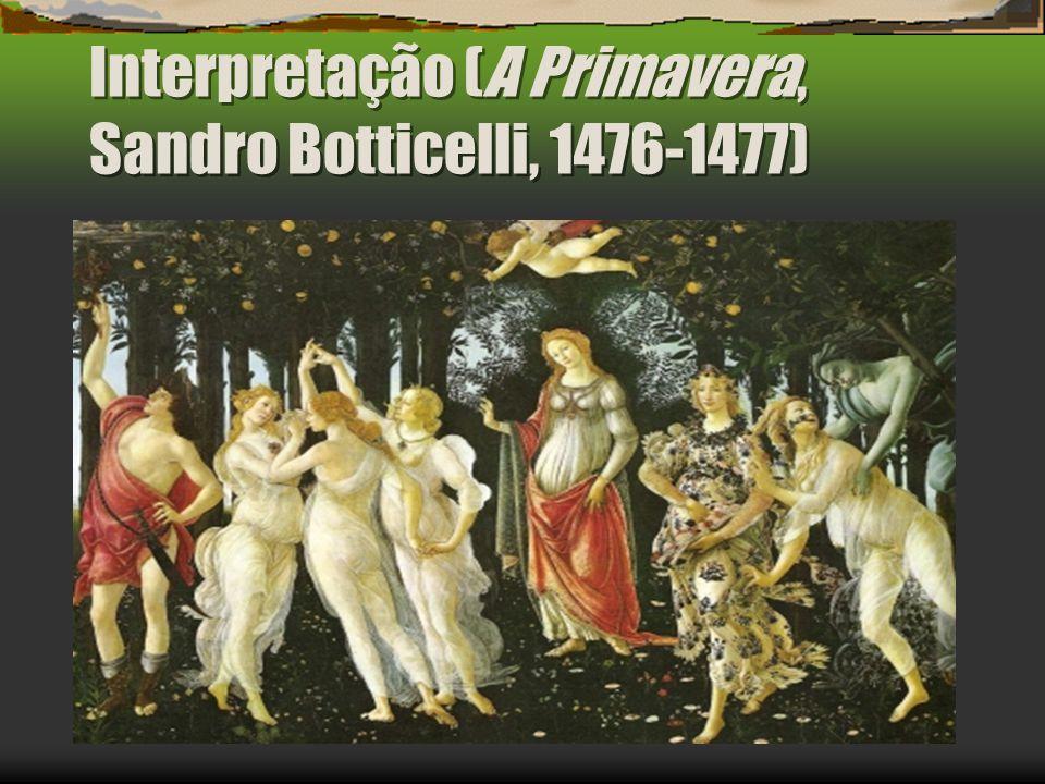 Interpretação (A Primavera, Sandro Botticelli, 1476-1477)
